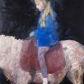 Pony, 2014, oil on canvas, 230 x 170 cm