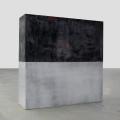 Through the Center of the Wall, 2014, silicon, 130x130x35cm