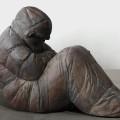 Stefan Papco, Andrej, 2014, bronze, 92 x 62 x 125 cm